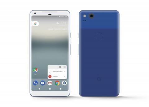 2017 Google Pixel XL Really Blue