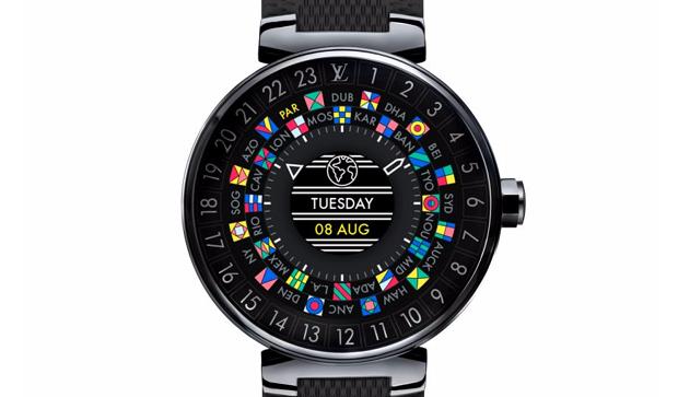 "Louis Vuitton has introduced ""smart"" watches Tambour Horizon"