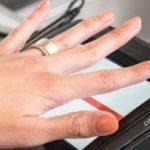 14153 Multifunction biometric Token ring (12 photos + video)