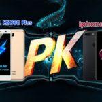 13703 OUKITEL K6000 Plus 7 Plus vs iPhone: who wins?