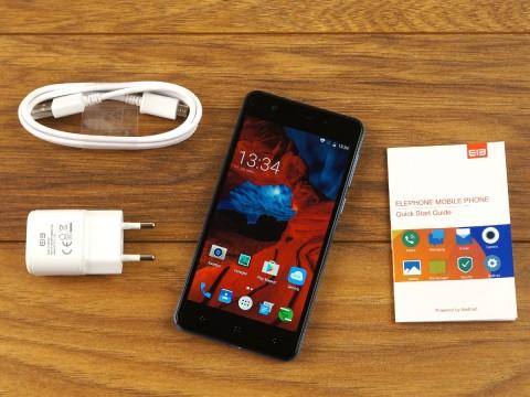 Review Elephone P8 Mini: maximum speed budget segment