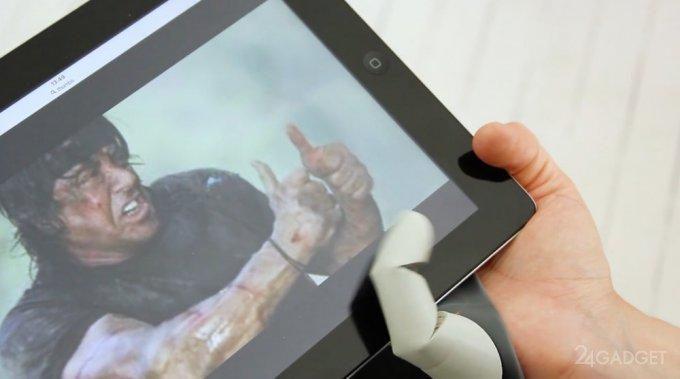 Робопалец, расширяющий человеческие возможности (12 фото + 2 видео)
