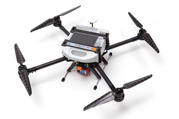 Russian UAV with a defibrillator (2 photos + video)