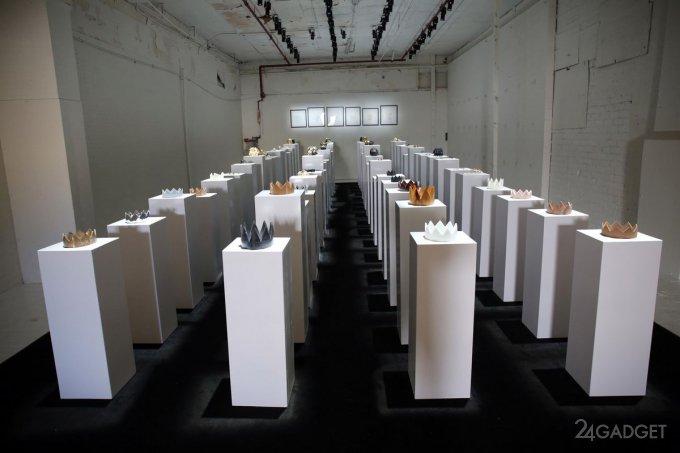 Селфи наносят ущерб современному искусству (3 фото + видео)