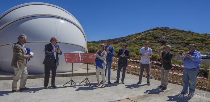 Испанский телескоп займётся поиском гравитационных волн (2 фото)