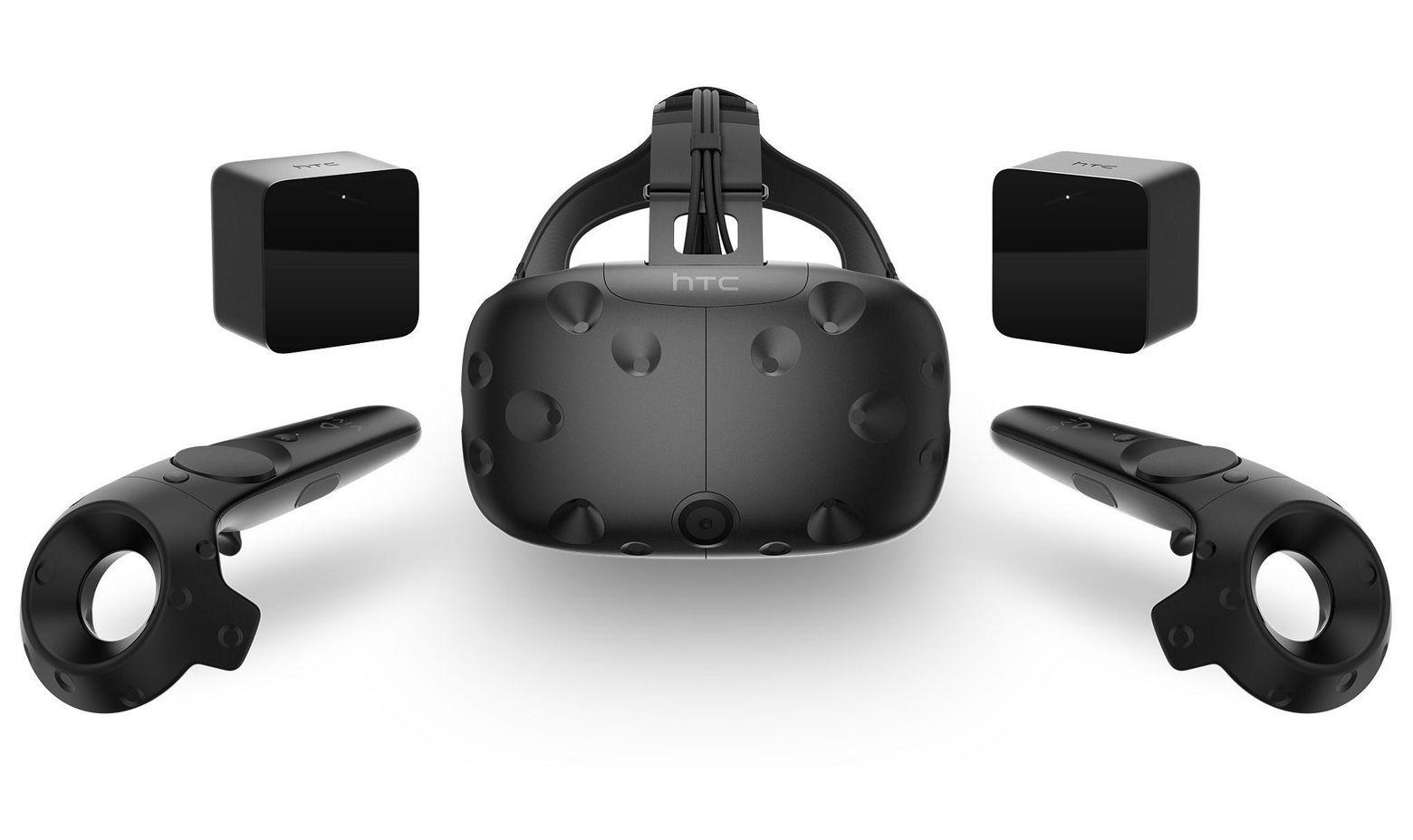 Лучшие шлемы виртуальной реальности для геймеров - HTC Vive