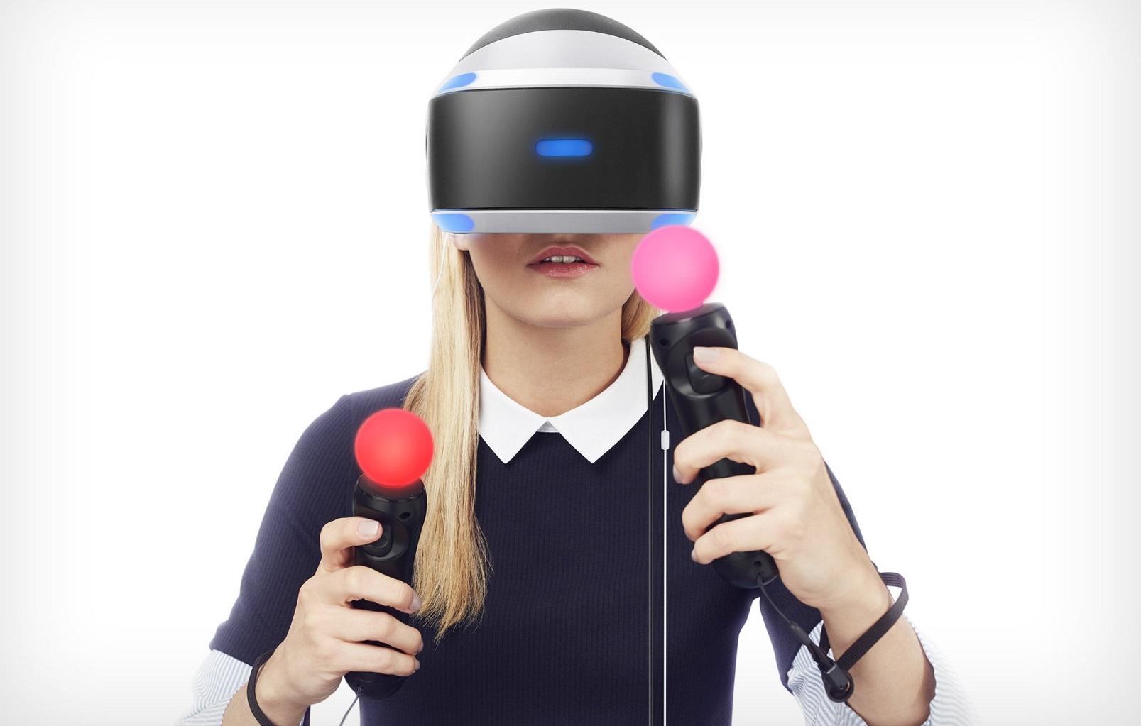 Лучшие шлемы виртуальной реальности для геймеров - Sony Playstation VR (3)