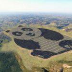 13747 The Chinese have built podobraziu solar power station (2 photos)
