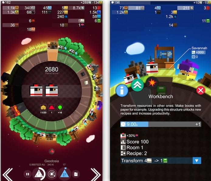 Топ-10 приложений для iOS и Android (17 - 23 июля) - A Planet of Mine (2)