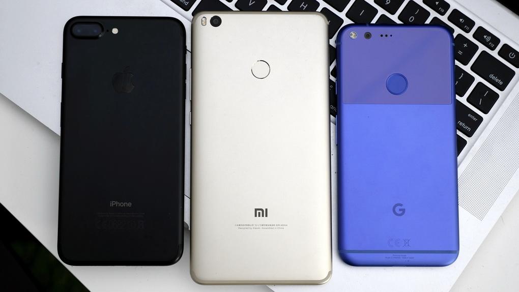 Xiaomi Mi Max 2 и другие смартфоны-сравнение