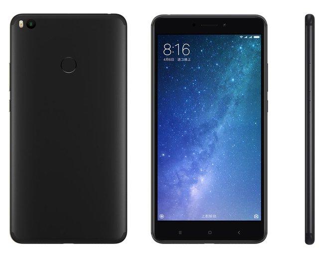 Xiaomi Mi Max 2 Black-ракурсы