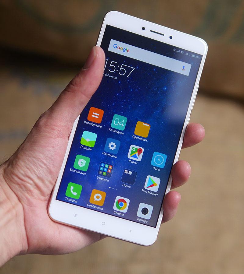 Xiaomi Mi Max 2-большой экран
