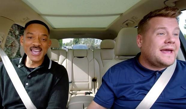 15567 Apple has published a teaser music show Carpool Karaoke
