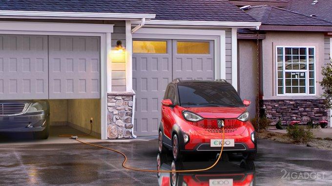 Дешевле Tesla Model 3: анонсирован электрокар Е100 от General Motors (9 фото)