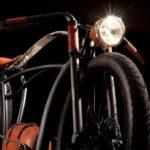 16149 E-bike in retro style (8 photos + video)