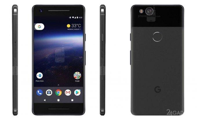 Google introduced smartphones Pixel 2 and Pixel XL 2 in October