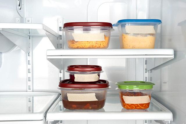 Как правильно хранить продукты в холодильнике удивительно просто, безумно актуально – Контейнеры со стикерами