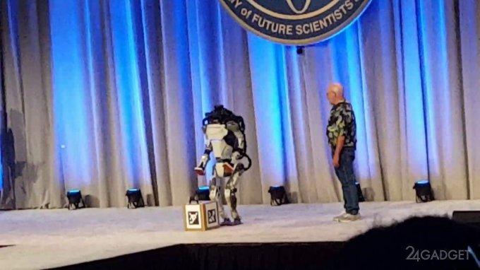 The success of robotics at Boston Dynamics prevents the human factor (video)