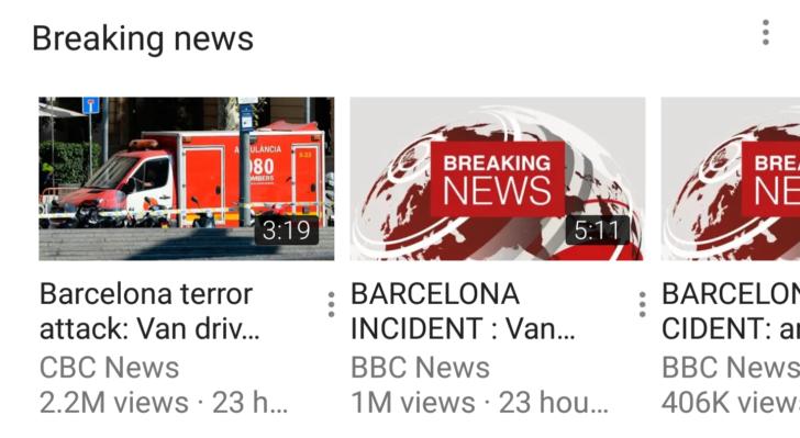 YouTube запускает раздел срочных новостей - фото 1