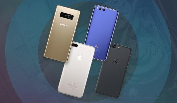 Comparing cameras Galaxy Note 8, iPhone 7 Plus, Xiaomi and OnePlus Mi6 5