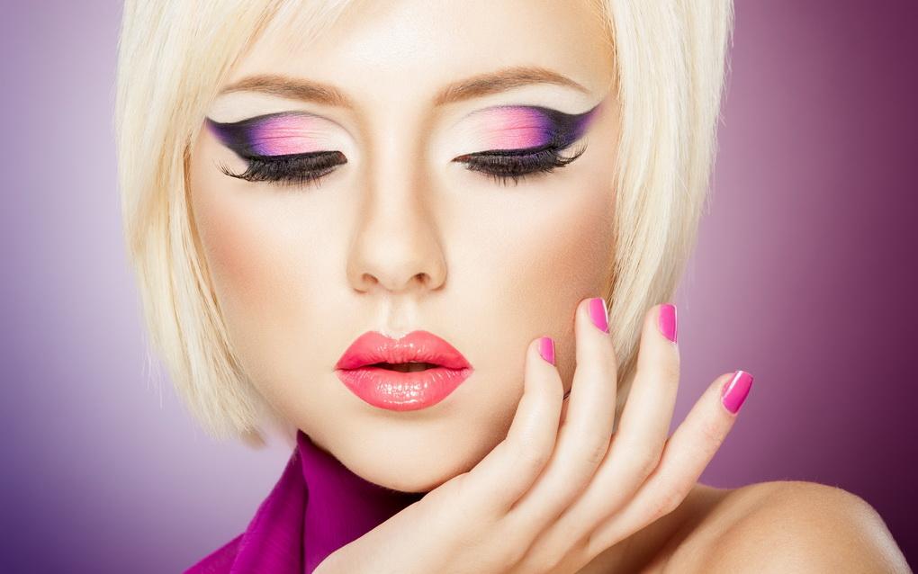Яркий макияж-фото