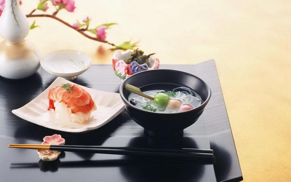 Японская кухня-меню
