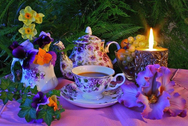Завтрак при свечах-как разнообразить свои будни