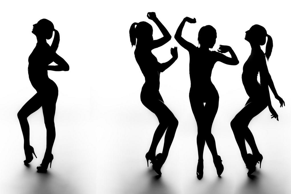 Танцы-силуэты