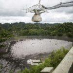 "18549 Hurricane ""Maria"" seriously damaged the famous radio telescope, ""Arecibo"""