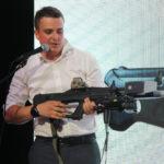 "17203 ""Kalashnikov"" introduced a electromagnetic gun to destroy the drone"