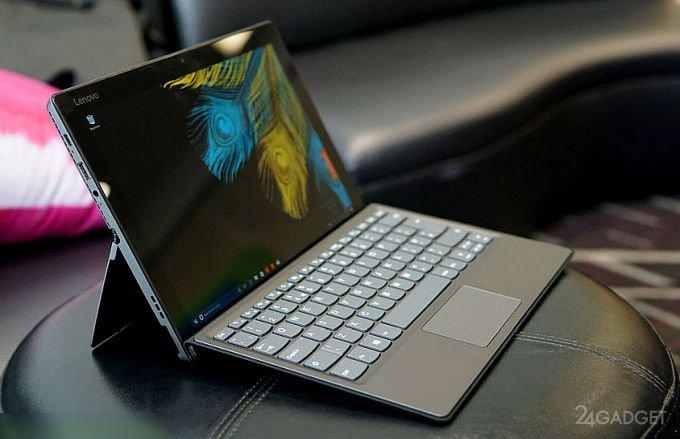 17423 Lenovo Miix 520 — tablet PC on Kaby Lake-R (8 photos + 2 videos)