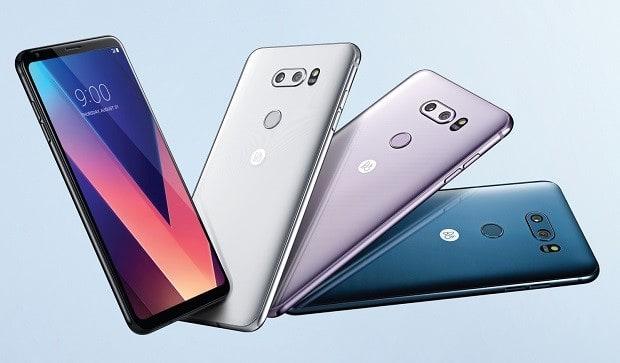 LG begins selling the long-awaited flagship smartphone V30