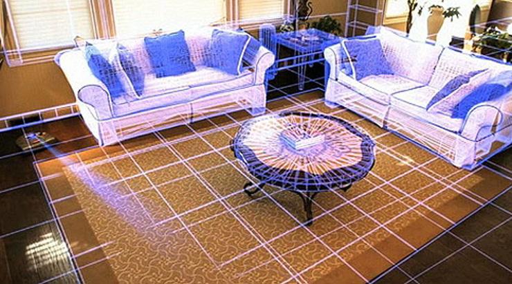 Робот-пылесос — верный помощник по уборке – Карта помещения