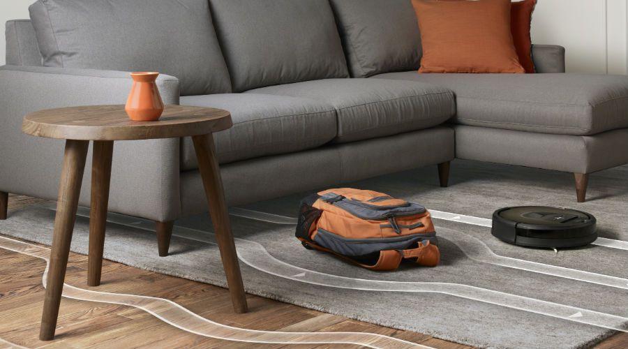 Робот-пылесос — верный помощник по уборке – Объезд препятствий
