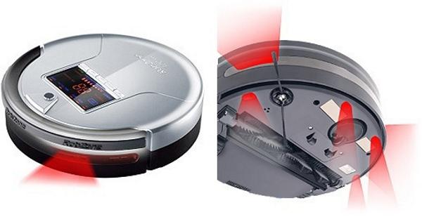 Робот-пылесос — верный помощник по уборке – Инфракрасные датчики