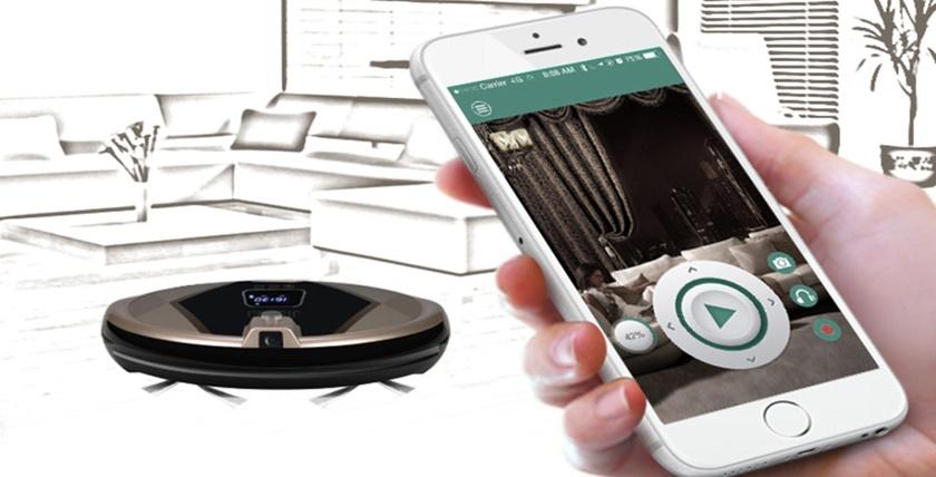 Робот-пылесос — верный помощник по уборке – Управление роботом со смартфона