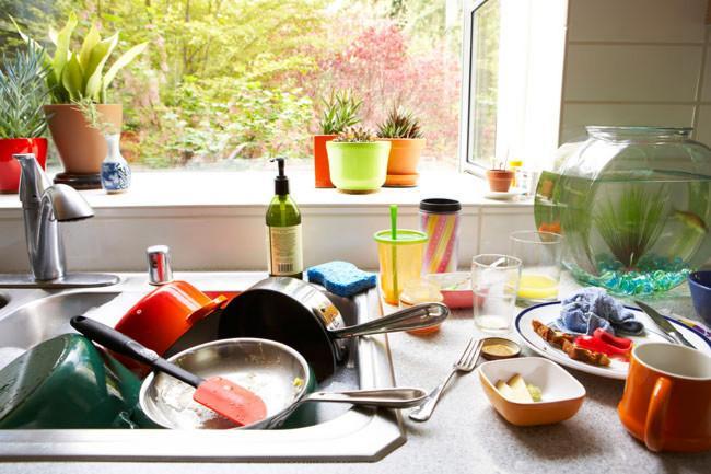 Стиль и удобство частично встраиваемая посудомоечная машина – Грязная посуда