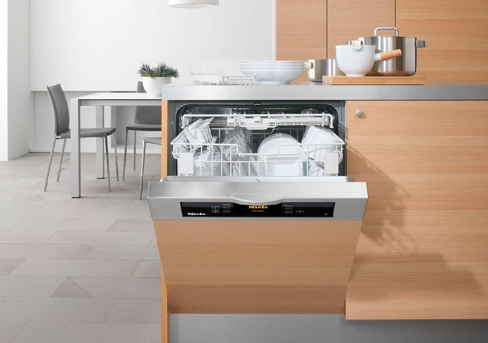 Стиль и удобство частично встраиваемая посудомоечная машина – Встроенная посудомоечная машина в интерьере