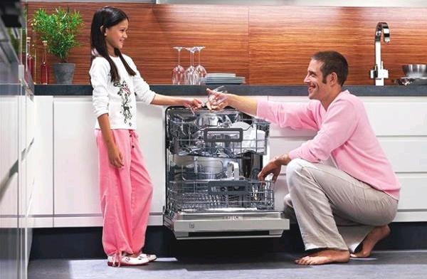Стиль и удобство частично встраиваемая посудомоечная машина – Посудомоечная машина для семьи