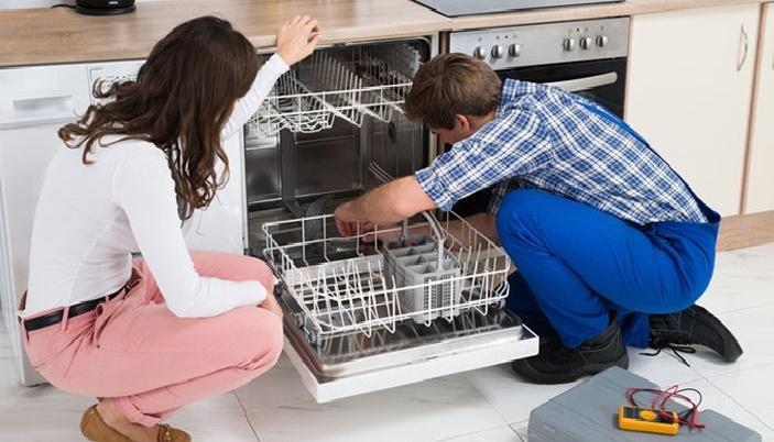 Стиль и удобство частично встраиваемая посудомоечная машина – Подключение посудомоечной машины экспертом