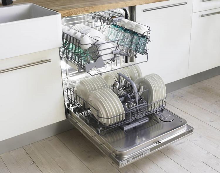 Стиль и удобство частично встраиваемая посудомоечная машина – Открытая посудомоечная машина