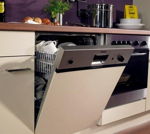 Стиль и удобство частично встраиваемая посудомоечная машина – Посудомойка с открытым управлением