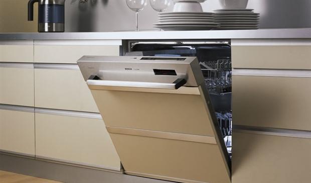 Стиль и удобство частично встраиваемая посудомоечная машина – Встроенная посудомойка с открытой панелью