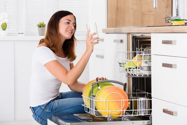 Стиль и удобство частично встраиваемая посудомоечная машина – Открытая посудомойка