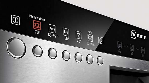 Стиль и удобство частично встраиваемая посудомоечная машина – Панель управления в посудомойке