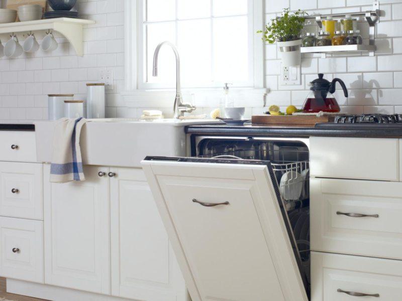 Стиль и удобство частично встраиваемая посудомоечная машина – Полностью встраиваемая посудомойка
