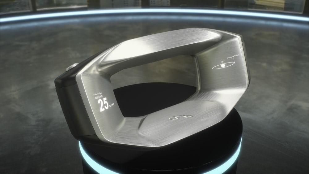 """The Jaguar will appear """"smart"""" steering wheel"""