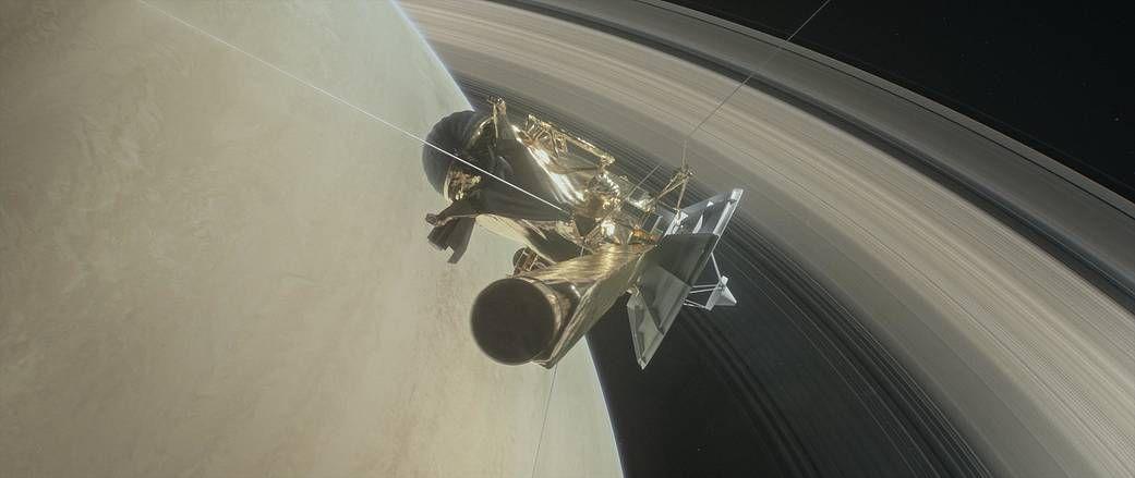 """The probe """"Cassini"""""""