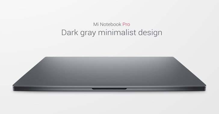 Xiaomi представила 15,6-дюймовый ноутбук Mi Notebook Pro – фото 1