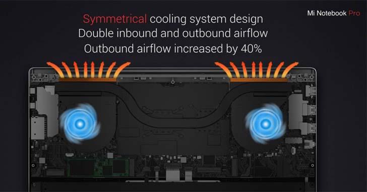 Xiaomi представила 15,6-дюймовый ноутбук Mi Notebook Pro – фото 5